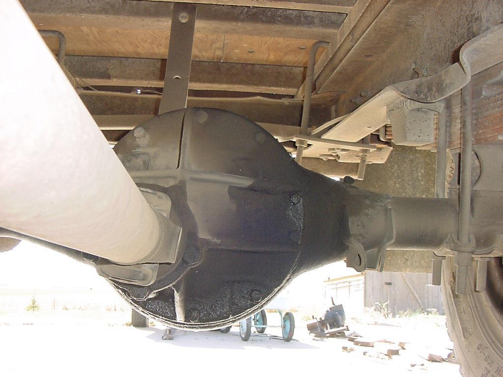 Full Floating Axle >> GMC H-072 Rear Axle