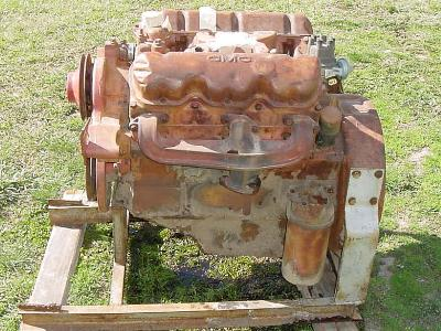 GMC 478 cid V6 Engine