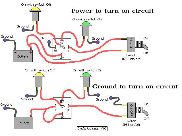 relay wiring diagram 87a relay wiring diagrams relaycircuits relay wiring diagram a