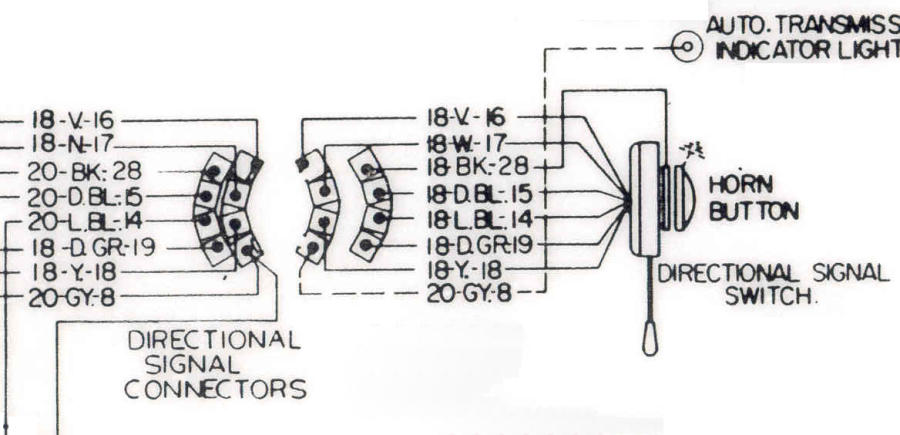 chevy truck steering column wiring diagram