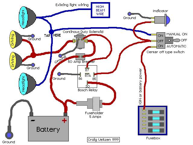 relay wiring diagram for driving lights efcaviation