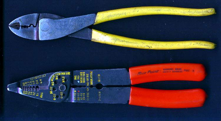 how to properly use wratchet wire crimpers