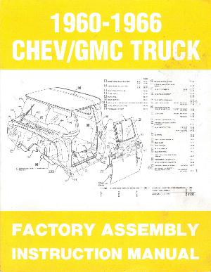 6066 Chevrolet Assembly Manual