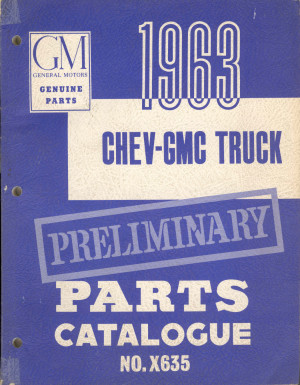 6066 GMC Trucks Library of Manuals